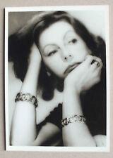 CP - GRETA GARBO , 1955 PAR GEORGE HOYNINGEN HUENE - FOTOFOLIO HH14 *