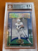2000 Staremaster Peyton Manning BGS 8.5 /1500 Indianapolis Colts NICE INSERT