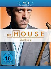 DR.HOUSE SEASON 2  Hugh Laurie, Lisa Edelstein 5 BLU-RAY NEU