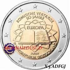 5x2 Euro Commémorative Allemagne 2007 - Traité de Rome