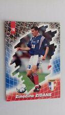 Panini - Foot Cards - France 1998 - Zinedine ZIDANE - N°190
