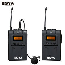 BOYA BY-WM6 UHF Omni-Directional Wireless Microphone Fr DSLR Canon Nikon BJ6 New
