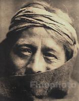 1900/72 EDWARD CURTIS Big NATIVE AMERICAN INDIAN Zuni Priest Religion Photo Art