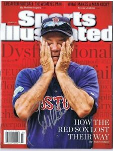 BOBBY VALENTINE SIGNED SPORTS ILLUSTRATED S.I. - Boston Red Sox - Mets