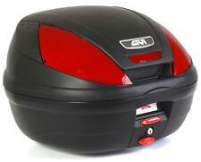 GIVI Monolock Topcase E370, negro mate, Incl. Placa adaptador, E370N