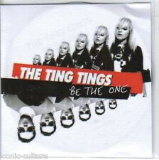The Ting Tings - Be The One - Rare UK 2 track promo CD