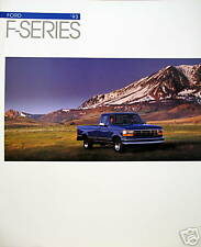 1993 Ford F-Series new vehicle brochure