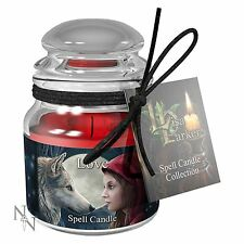 Spell Candle Jar and Spell by Lisa Parker 9 cm High Pagan Wiccan Magic Craft