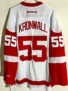 Reebok Premier NHL Jersey Detroit Redwings Niklas Kronwall White sz S