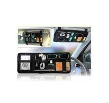 Car Sun Visor Elasticity Grid It Gadget Organizer Storage Accessories