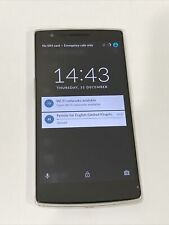OnePlus One 16GB Sandstone White Unlocked CYANOGEN OS Android A0001 Used 7/10