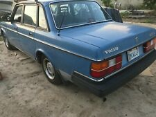 240 Volvo sedan and or wagon front or rear corner bumper trim hockey stick