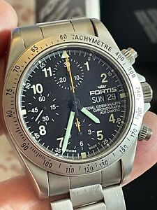 Fortis Official Cosmonauts Chronograph re. 630.22.142