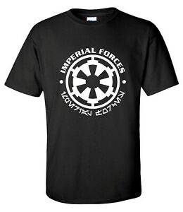 Imperial Forces sci-fi Movie Jedi Mens T-shirt