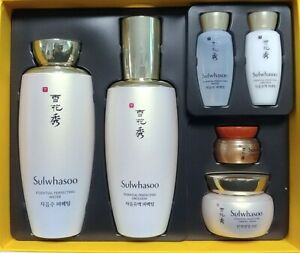 [Dabin Shop] Sulwhasoo Essential Perfecting Emulsion & Water & Cream Gift Set