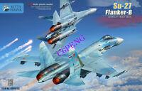 Kitty Hawk KH80163 1/48 Static plastic model Su-27 Flanker-B 2020 new