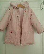Baby Boop Padded Jacket Coat Girls 24 months Winter Warm Fleece LIGHT PINK