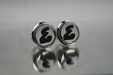 Enik Silver Plugs Caps Topes Tapones guidon bouchons lenker endkappe Tappi 3D