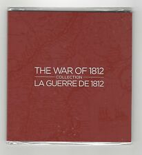 **2012**War of 1812 Collection, 5 Coin Set With Coloured $.25c & Special Toonie