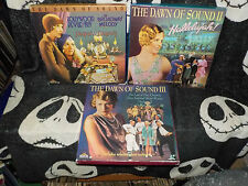 Dawn of Sound 1, 2 & 3 Box Set Laserdisc LD 9 Films +Shorts Free Ship $30 Orders