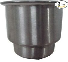 Amarine-made 3pcs Stainless Steel Cup Drink Holder with Drain