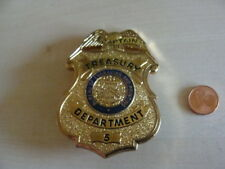 Sheriff Stern  Abzeichen  Captain  Reasury Department mit ZERTIFIKAT