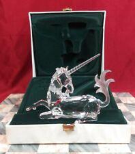 Swarovski Crystal 1996 Annual Edition Fabulous Creatures The Unicorn