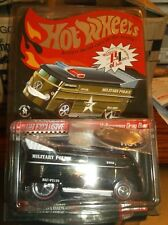 HOT WHEELS  LIMITED EDITION VW BUS, 2009 CLUB CAR MILITARY POLICE