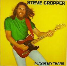 "12"" LP-Steve Cropper-Playin 'My Thang-b882-Slavati & cleaned"