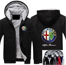 Warm Thicken ALFA ROMEO Hoodie Jacket Cosplay Sweater fleece coat Team Race