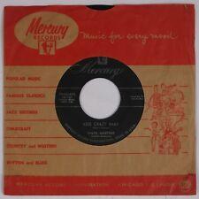 RALPH MARTERIE: Kiss Crazy Baby / Bongo Guitar '54 Swing Jazz 45 MERCURY Hear