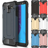Heavy Duty Shockproof Rubber Hard Case Cover For Samsung Galaxy J8 J6 J4 2018