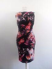Coast Red Piana Print Carly Jersey Dress Size UK 10 RRP £89 Box4660 L