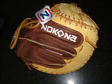 "NOKONA ALPHA SELECT SERIES SV-2 FASTPITCH CATCHERS MITT 32.5"" LH - $299.99"
