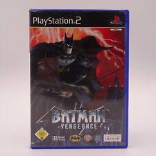 Batman Vengeance Sony Playstation 2 PS2 PAL Spiel Game Gotham City Unterwelt