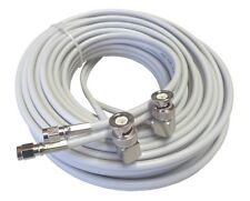 5m Low loss TWIN-Koaxkabel für Novero Dabendorf MIMO-Antennen 800/1800/2600 MHz