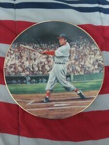 Stan Musial Commemorative Plate #2261A Bradford Exchange 1993 Vintage