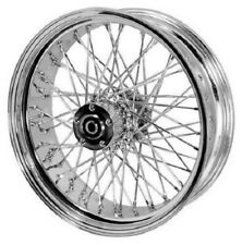 Stainless Steel 60 Spoke Rear Wheel 18 x 5.5 with ABS Harley Softail 2008-2013