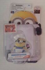 Despicable Me 2 Minion Baker Poseable Action Figure Factory Sealed