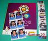 PANINI EURO CUP 2012 - ALBUM VUOTO EMPTY + SET COMPLETO FIGURINE + AGGIORNAMENTI