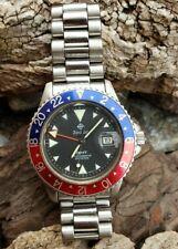 Vintage Zodiac GMT Pepsi 813.21.03•Quartz•New battery