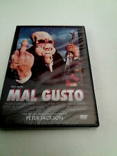 "DVD ""MAL GUSTO"" PRECINTADO SEALED PETER JACKSON BAD TASTE"