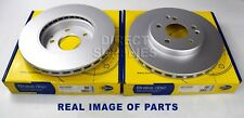 2X FRONT AXLE BRAKE DISCS MERCEDES BENZ C E CLC-CLASS CLK SLK 1.8 2.0 TO 3.0 3.2