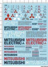 1/18 1/12 1/24 1/20 decals Mitsubishi