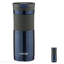 Stainless Steel Coffee Travel Mug Cup Tumbler Insulated 20 Oz Blue New