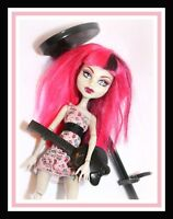❤️Monster High Create a Monster CAM Egyptian MUMMY Girl with Dress Pink Wig❤️