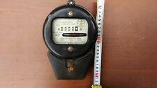 Vintage Russian Soviet Round Electrical Watt Hour Meter 1969 Bakelite Ussr