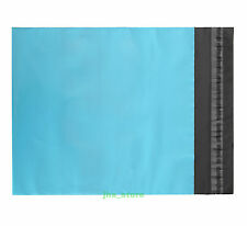 """New listing 10 Blue Envelopes Mailers Poly Mailing Bags 5.1"""" x 7.5""""_130 x 190+40mm"""