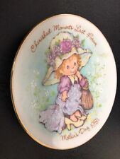 Avon 1981 Cherished Moments Mother's Day Plate