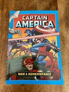 CAPTAIN AMERICA WAR AND REMEMBRANCE John Byrne  MARVEL 1990 Trade Paperback TPB